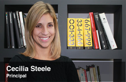 Cecilia Steele, Principal and Art Director