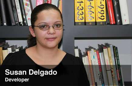 Susan Delgado, front end Developer